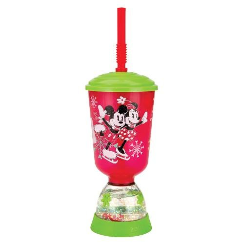 Zak Designs Mickey and Minnie Mouse Peace & Joy Holiday 9 oz