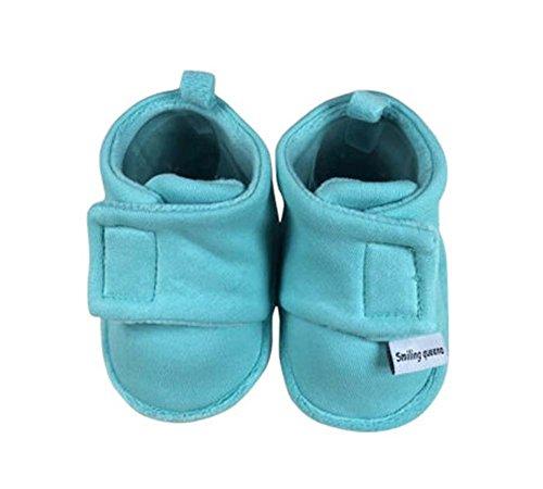 2 paires de chaussures confortables en tissu Shoes Shoes coton Chaussures enfant pour nouveau-né