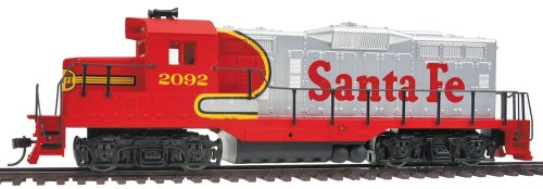 Walthers Trainline EMD HO Scale GP9M Ready-to-Run Sante Fe (Superfleet) #2092 -