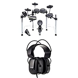 Alesis Surge Mesh Kit – Eight-Piece Electronic Drum Kit with Mesh Heads + DRP100 – Extreme Audio-Isolation Electronic…