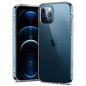 Amazon Brand – Solimo Back Case for iPhone 12/12 Pro (Flexible|Transparent)