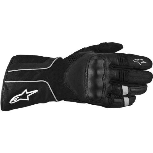 Alpinestars Overland Drystar Waterproof Textile Leather Gloves Black S/Small
