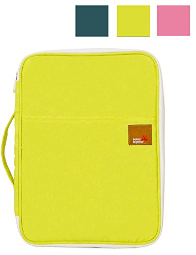 Mygreen Hands Strap Travel Clutch Bag Passport Wallet Waterproof Nylon Yellow