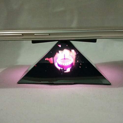 Morning May - Pantalla 3D holográfica Prisma, pirámide, proyección de pie, para iPhone 3,5 Pulgadas – 6,5 Pulgadas, teléfono móvil, Negro Mate: Amazon.es: Informática