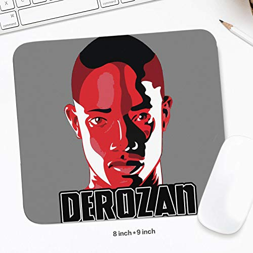8X9 (inch) Funny Pattern Mouse Pad Sport Theme Style Basketball Mouse Mat Gaming Comfortable Durable Rectangle Suitable for Computers Laptop Office Home Mousepad 20.3 X22.7 cm