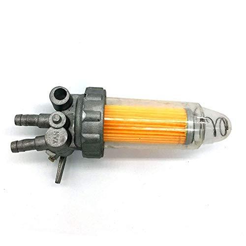 AM Kraftstoffhahn mit Kraftstofffilter Kubota Benzinhahn universal Dieselhahn
