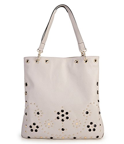 Johnson Hobo Betsey (Betsey Johnson Grommet Convertible Hobo Tote - Grey)