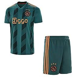 Zhouwei222 Maillot de Foot Enfants Football 2019-2020 (Domicile et extérieur) Tops Shirt + Shorts + Socks Set-Custom avec Votre Nom et Vos Numéros