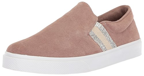KAANAS Women's Santa Fe Fashion Slip-on Casual Sneaker Skate Shoe, Mauve, 9 M US by KAANAS