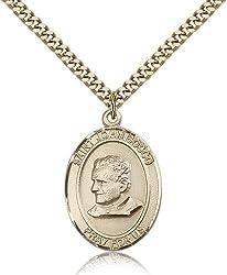 Gold Filled St. John Bosco Pendant