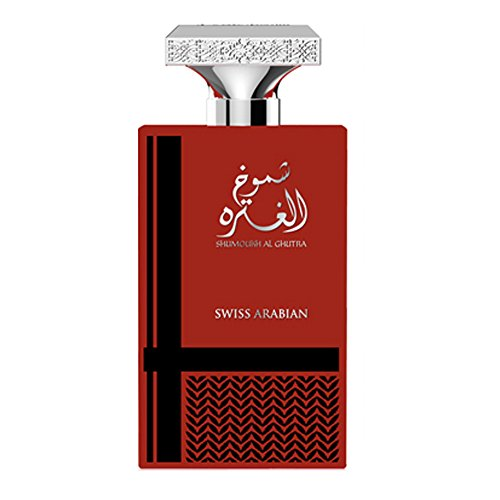(Shumoukh Al Ghutra 100mL, a Leathery Eau De Parfum for Men with refreshing green crisp notes of Galbanum, Apple, Violet and a solid Cedarwood heart softened by the Vanilla and)