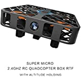 360°30M Mini RC Remote Control Quadcopter 2.4GHz 4CH 6-Axis Gyro Headless Drone by Victorcn (Black)
