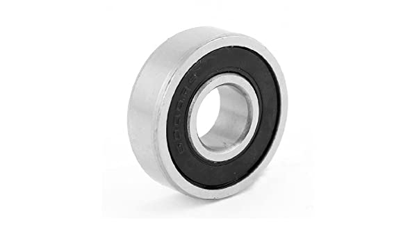 eDealMax DE 26 mm x 10 mm x 8 mm motocicleta rodamientos rígidos de Bolas 6000RS: Amazon.com: Industrial & Scientific