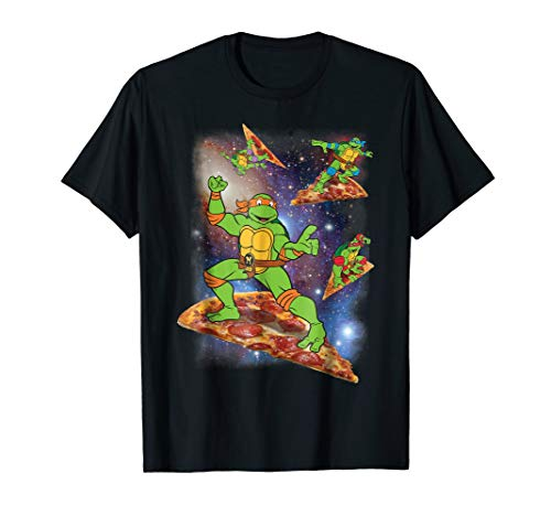 Adults or Child's Teenage Mutant Ninja Turtles Cosmic Pizza Surfing T-Shirt