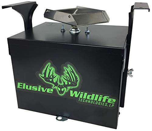Elusive Wildlife Premium 12 Volt Feeder Control System - Box and Motor Only - Black - Feeder Control