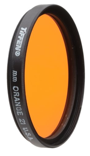 Tiffen 77mm 21 Filter (Orange) by Tiffen