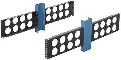 Rack Solutions 2POST-2UKIT 2RU Rack to Cabinet Conversion Brackets Mounting Kit