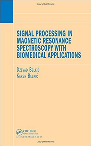 Understanding And Addressing Processing >> Signal Processing In Magnetic Resonance Spectroscopy With Biomedical