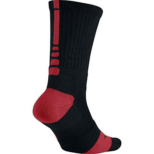 Nike Calzini Elite Basketball Crew Black/Varsity Red/Varsity Red