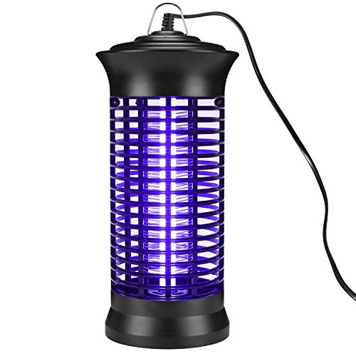 Electronic Bug Zapper, Portable Mosquito Lamp, Non-Toxic, No Radiation, Standing or Hanging Design Perfect for Home/Office/Indoor Places Use