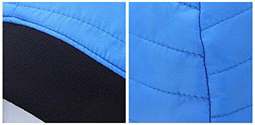 Unisexo de Azul al con Esquí Ciclismo Aire A Libre Roffatide Beanie Gorro Invierno Deporte Viento Prueba Polar máscara Forro vn4WqwdWF