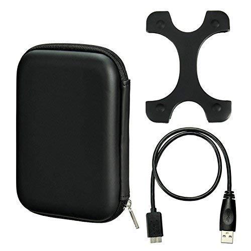 2 opinioni per EVA di alta qualità 6,3cm mobile hard disk drive HDD borsa custodia di
