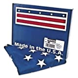 All-Weather Outdoor U.S. Flag, Heavyweight Nylon, 3 ft x 5 ft, Sold as 1 Each