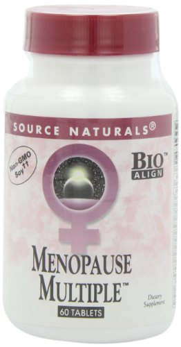 Source Naturals Menopause Multiple, Multi-System Support for Menopause,60 Tablets Menopause Nutritional Support 60 Tabs