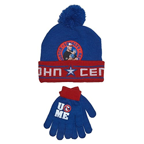 Toddler Boys WWE John Cena Hat & Gloves by Berkshire Fashions