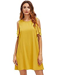 Amazon.com: Yellow - Dresses / Clothing: Clothing, Shoes & Jewelry