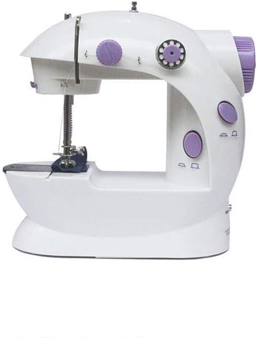 GSKTY Máquina de coser pequeña eléctrica hogar 19.5 * 12. 5 * 21 ...