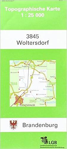 Land Brandenburg Karte.Woltersdorf Topographische Karten Atkis 1 25000 Tk25 A Land