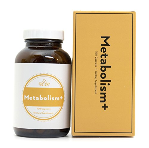 Fusion Naturals Metabolism+ Holistic Natural Supplement -Booster Metabolism, Helps Burn Fat and Assists Weight Loss,Herbal Formula, Gluten Free, Dairy Free, Non GMO, 100 Capsules