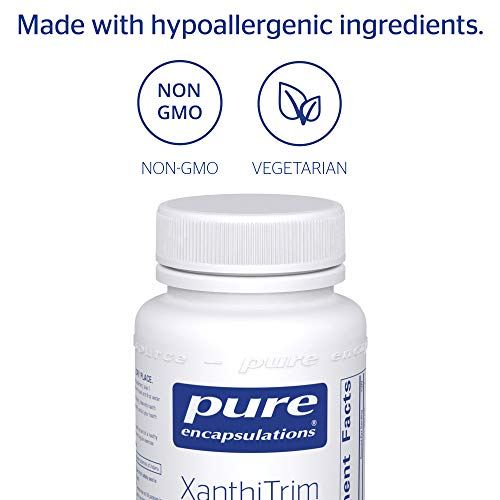 Pure Encapsulations - XanthiTrim - Dietary Supplement to Support Healthy Fat Metabolism and Metabolic Rate* - 60 Caplique Capsules by Pure Encapsulations (Image #3)