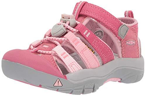 (Keen Unisex Newport H2 Water Shoe Rapture Rose/Powder Pink 1 M US Big Kid)