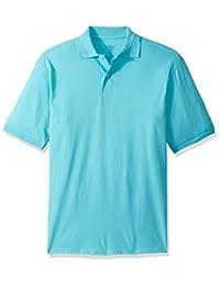 Jerzees Mens Standard Spot Shield Short Sleeve Polo Sport Shirt