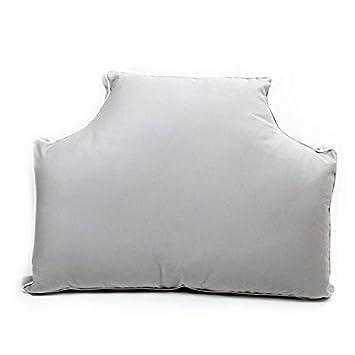 Headboard Pillow - Storm Grey Queen