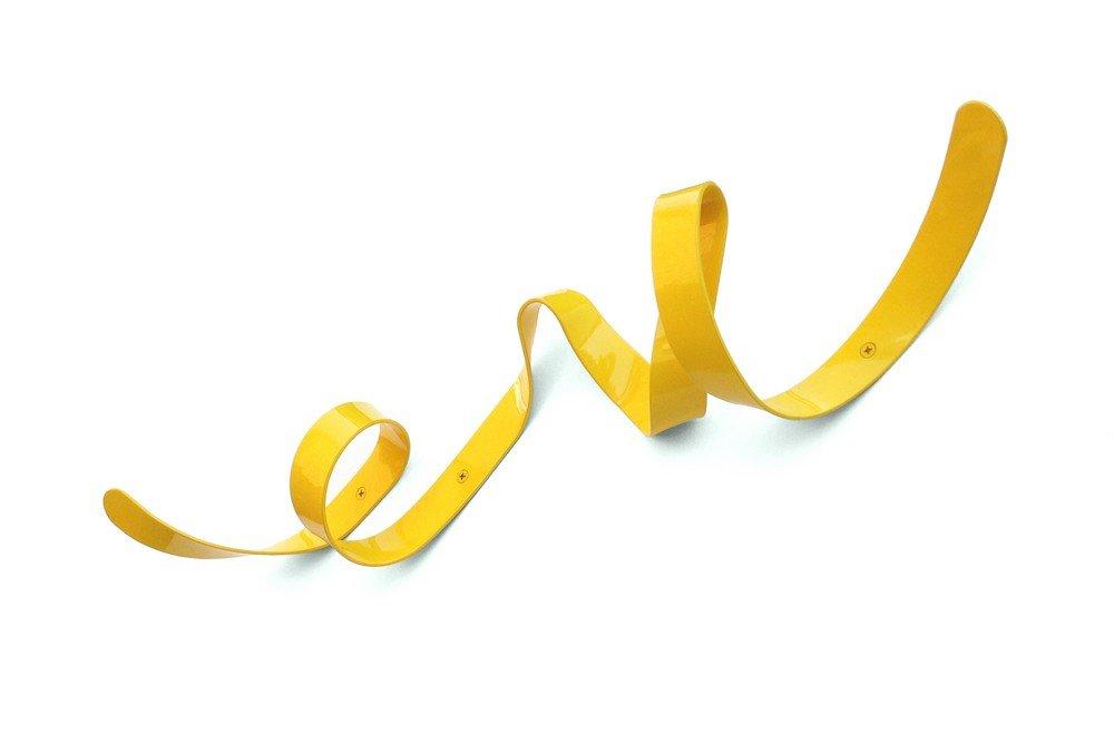 Headsprung - Perchero Decorativo de Pared Metal Amarillo ...