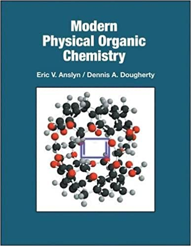 Physical Organic Chemistry Ebook