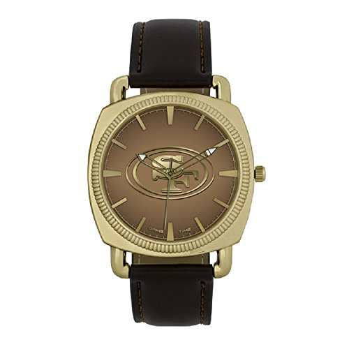 Gametime Watches NFL San Francisco 49ers Mens Classic SeriesGold, Gold, One Size