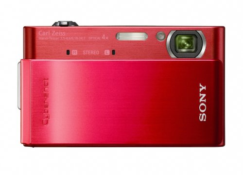 (Sony Cyber-shot DSC-T900 12.1 MP Digital Camera with 4x Optical Zoom and Super Steady Shot Image Stabilization (Red) )