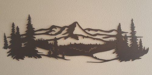 Pine Tree Metal Art - 4