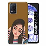 Gismo Designer Printed Soft Silicone Pouch Back Case Mobile Cover for Realme 8 5G / for Boys and Girls – A172