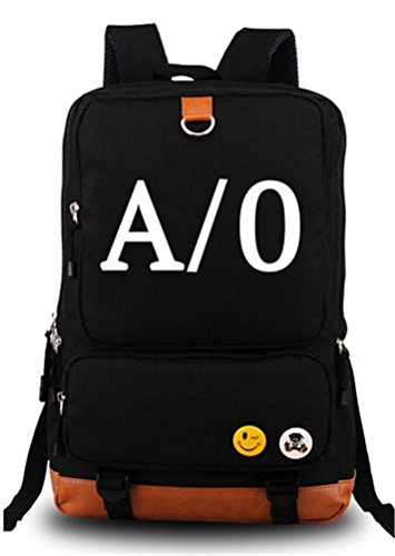 Siawasey Gangsta Anime Cosplay Canvas Bookbag Backpack Shoulder Bag School Bag
