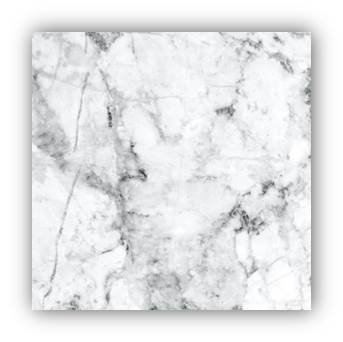 (CounterArt Tempered Glass Mini Instant Counter (White Marble))