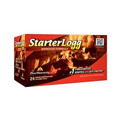 Jarden Home Brands-Firelog 41525-01001 Starterlogg Firestarters, 24-Pk.