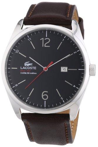 Lacoste-2010682-Reloj-analgico-de-cuarzo-para-hombre-correa-de-cuero-color-marrn