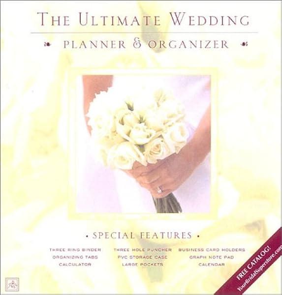 The Ultimate Wedding Planner Organizer Lluch Elizabeth 9781887169240 Amazon Com Books