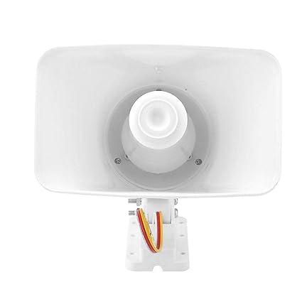 Bocina de Alarma Diyeeni 12V 150 dB Doble ABS Tono ...
