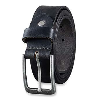 Imagen no disponible. Imagen no disponible del. Color  STILORD Cinturón de Cuero  para Hombre de Búfalo Robusto Correa para Vaqueros con Hebilla de Espina 06aec997aefd